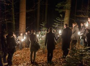 Waldweihnacht mit Markus Anker und Thomas Reschke